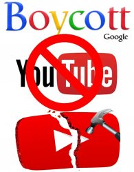 JE BOYCOTTE YOUTUBE (#WorldPeaceNow*)