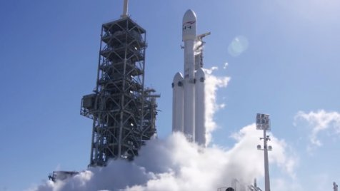spacex la falcon heavy par e au lancement agoravox tv. Black Bedroom Furniture Sets. Home Design Ideas